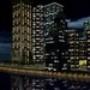Proteção de Tela: Night City 3D