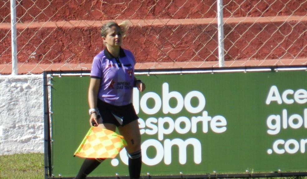 Livia Tozato foi a melhor assistente do Campeonato Amador de 2015 — Foto: Caroline Aleixo