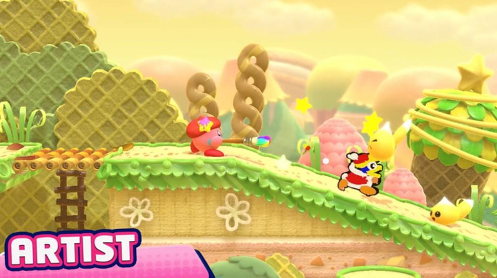 Kirby Star Allies tem novos poderes como