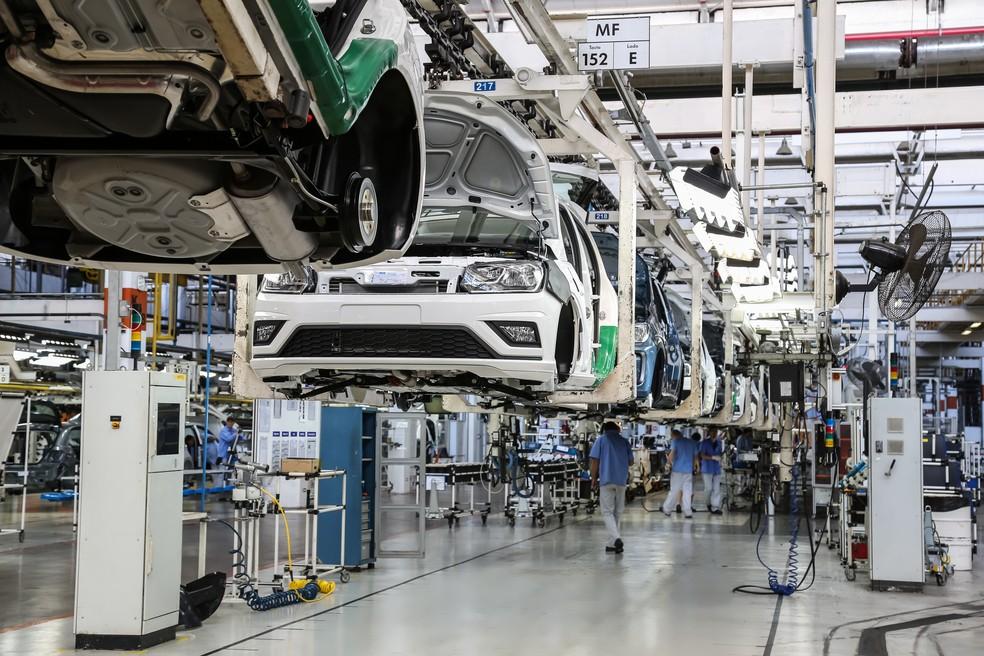 Fábrica da Volkswagen em Taubaté (SP) — Foto: Divulgação
