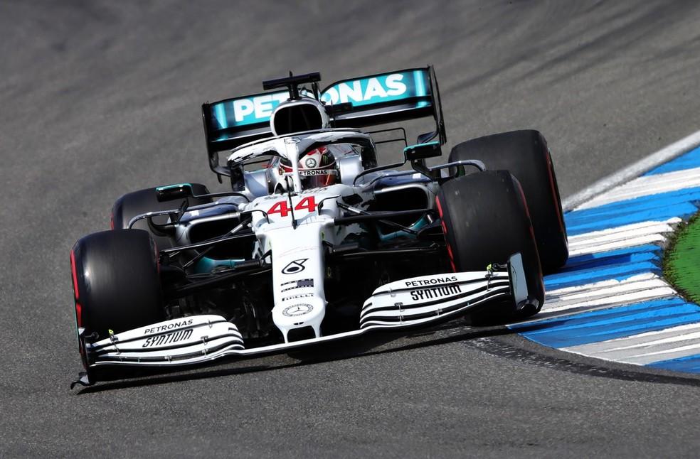 Lewis Hamilton Mercedes Hockenheim  — Foto: Getty Images