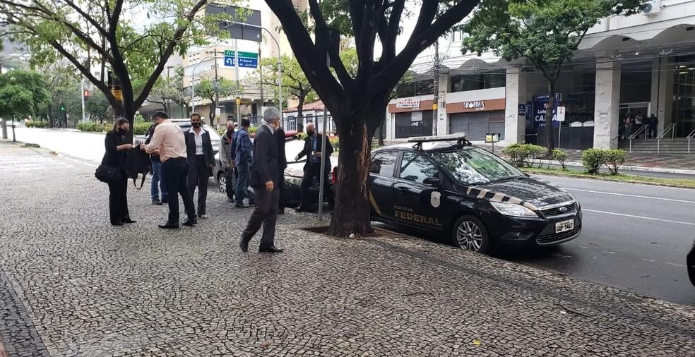 Polícia Federal faz operação para investigar advogados e desembargadores de Minas — Foto: Danilo Girundi/TV ...</div></div>                                         <div class=