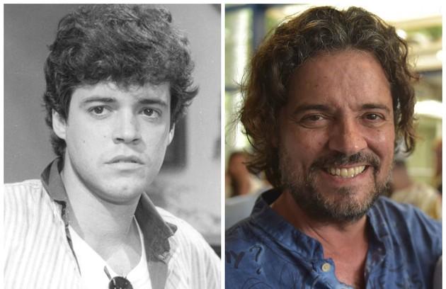 Felipe Camargo, que estará na série 'Assédio', da Globo, era Pedro Garcez, o filho rebelde de Renato (Foto: Reprodução)