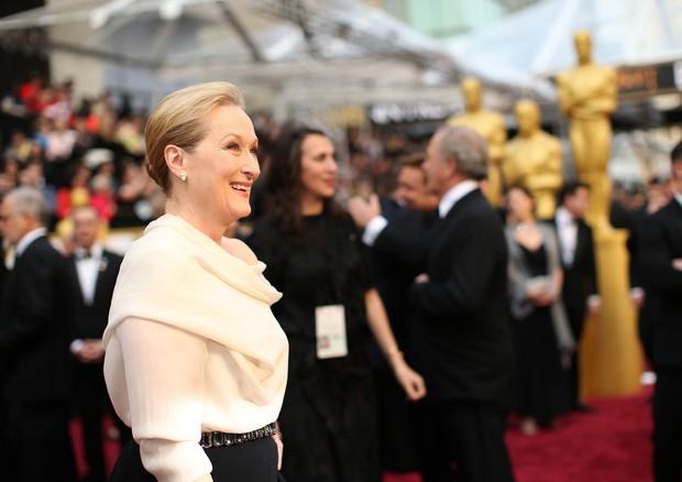 Meryl Streep, indicada ao Oscar como melhor atriz por The Post (Foto: Getty Images)