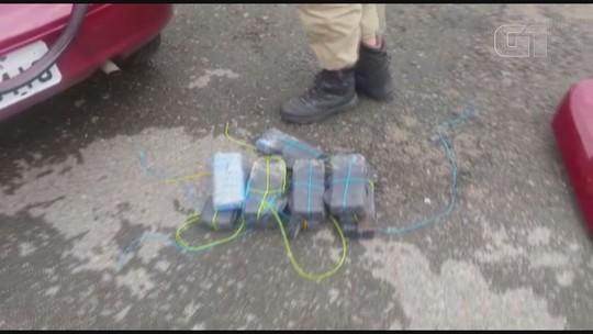 PRF apreende mais de 20 kg de crack em fundo falso de veículo em SP