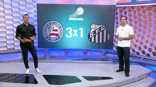 Santos perde do Bahia, e Lucas Lima deixa o campo irritado: veja a história do jogo