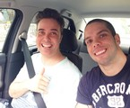 Paulo Silvino com o irmão João Paulo | Arquivo pessoal