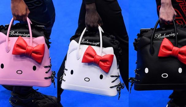 Balenciaga lança bolsa com a cara da Hello Kitty. Sério!