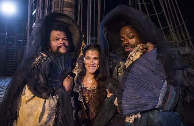 Na trama de Thereza Falcão e Alessandro Marson, o ator teve sequências de humor ao lado de Ingrid Guimarães  e Thiago Thomé (Foto: TV Globo)