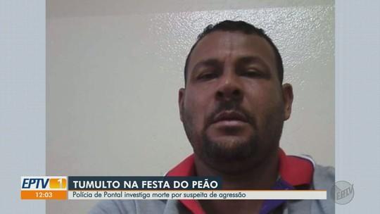 Polícia investiga morte de homem que se envolveu em briga durante festa do peão em Pontal, SP