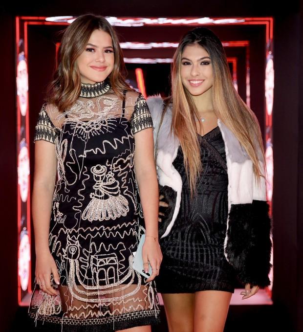 Maísa Silva e Fernanda Concon (Foto: Manuela Scarpa/Brazil News)