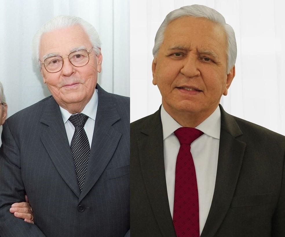 Pastores de igreja evangélica, pai e filho morreram vítimas do coronavírus em Cuiabá — Foto: Facebook