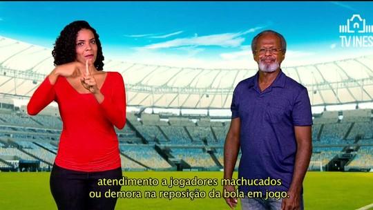 """""""Mão na Bola"""" 2 mostra golaços do Campeonato Brasileiro com legendas em libras"""