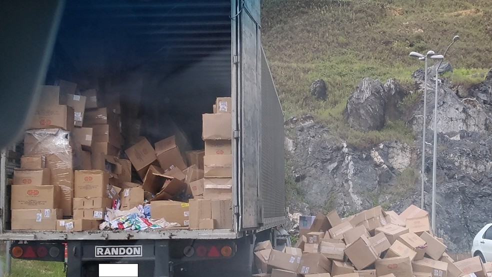 Suspeitos causaram prejuízo de mais de R$ 8,6 milhões só em carga roubada (Foto: Ascom/PF)