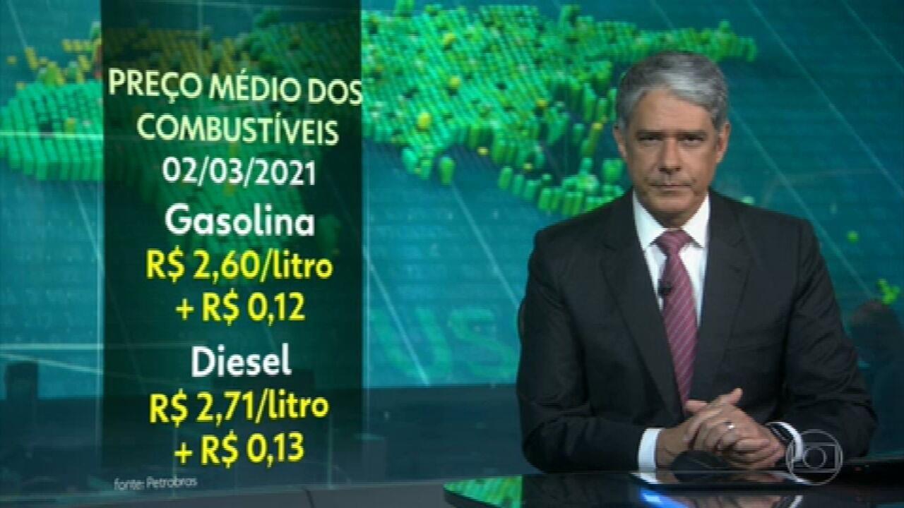 Petrobras anuncia novo aumento do preço dos combustíveis nas refinarias