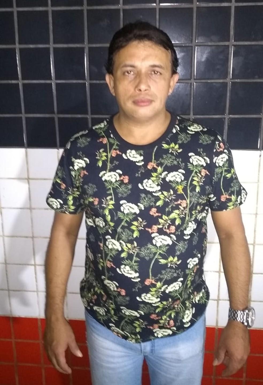 Paulynho Paixão foi preso em um hotel de Bacabal após denúncia de agressão por parte de sua esposa — Foto: Divulgação/Polícia Militar
