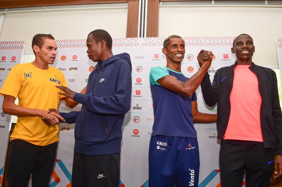 Frank Caldeira está entre os favoritos da São Silvestre (Foto: Djalma Vassão/Gazeta Press)