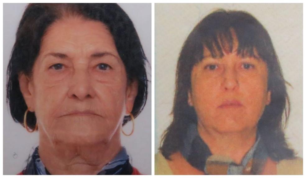 Maria Honória de Souza e a filha, Rosane Maria de Souza, morreram no local do acidente, em Pratápolis (MG) — Foto: Arquivo Pessoal