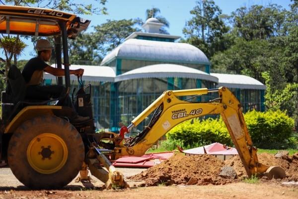 Palácio de Cristal, em Petrópolis, RJ, é fechado para visitação e passa por reforma