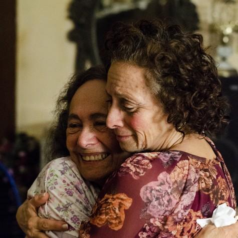 Marcélia Cartaxo e Zezita Matos no filme 'Pacarrete' (Foto: Luiz Alves)