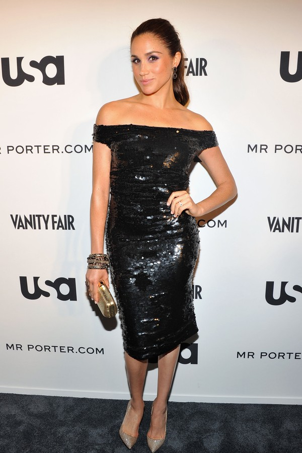 "NEW YORK, NY - JUNE 12:  Meghan Markle  of Suits attends USA Network and Mr Porter.com Present ""A Suits Story"" on June 12, 2012 in New York, United States.  (Photo by Theo Wargo/Getty Images for NBCUniversal/USA Network) (Foto: Getty Images )"