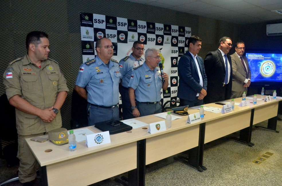 Coordenadores do Programa GuardiAM se reuniram com os consultores — Foto: Divulgação