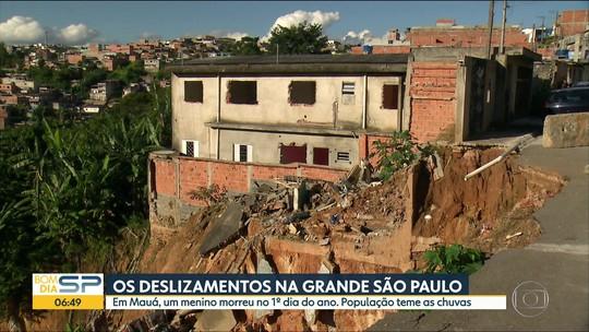 Chuvas e solo encharcado preocupam moradores da Grande SP