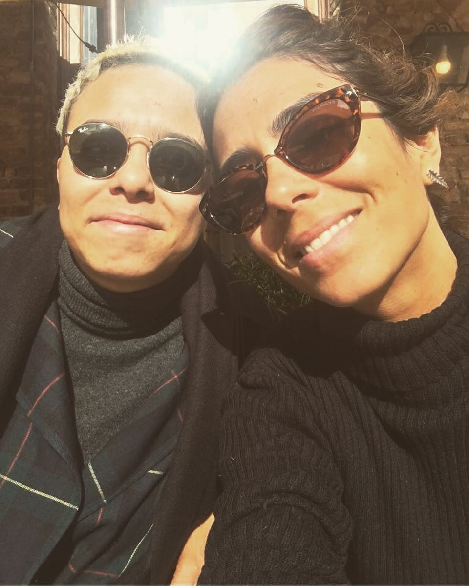 Maria Gadú e Lua Leça (Foto: Reprodução/ Instagram)