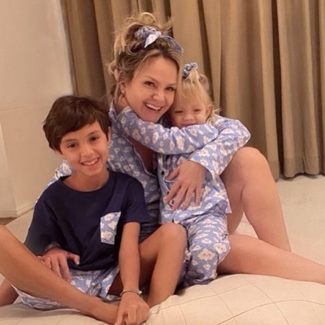 Eliana with her children (Photo: Reproduction)