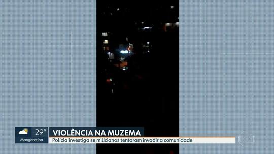 Polícia investiga ação de milicianos na favela da Muzema, na Zona Oeste do Rio