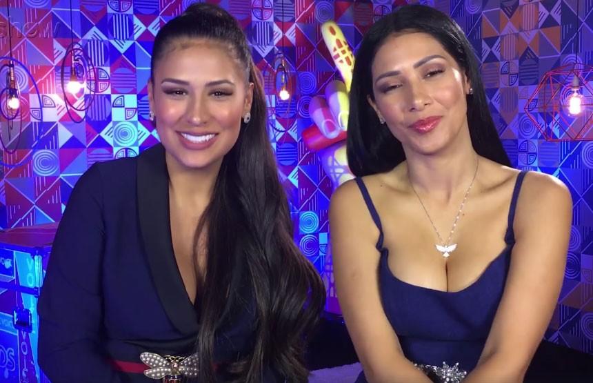 Simone e Simaria nos bastidores de The Voice Kids de domingo (13.03) (Foto: Reprodução/Facebook)