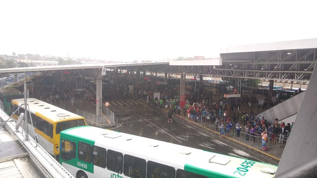 Estação Pirajá, em Salvador — Foto: Joice Marques/Joice Marques