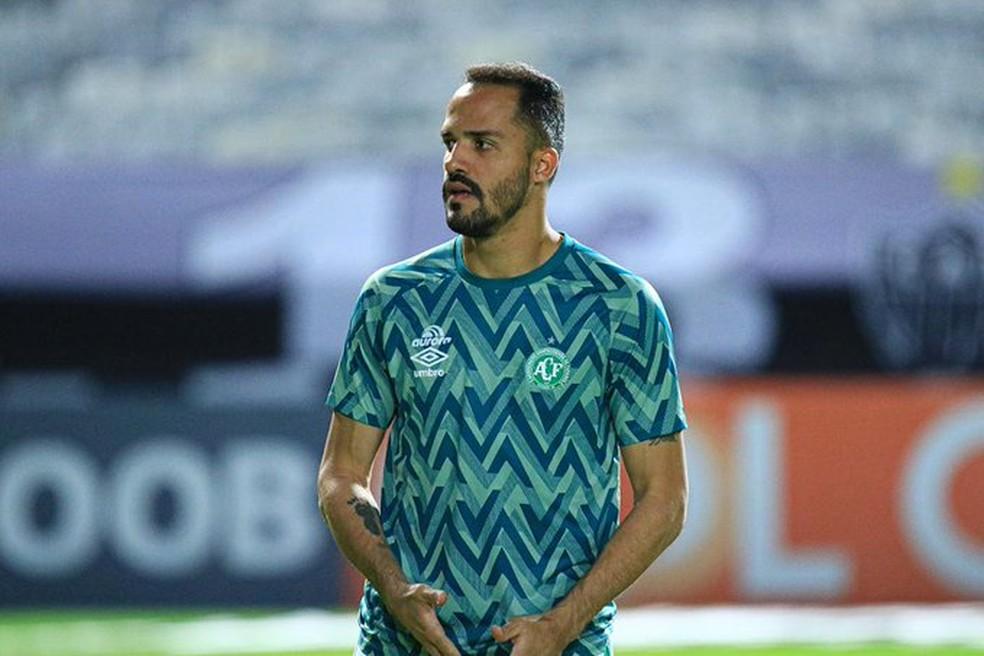 Anselmo Ramon desfalca a Chapecoense diante do Palmeiras — Foto: Márcio Cunha / ACF