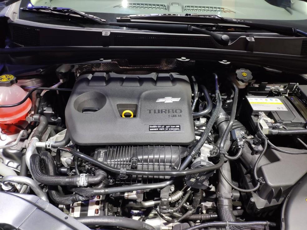 Na China, novo Chevrolet Prisma aparece com motor 1.0 turbo — Foto: André Paixão/G1