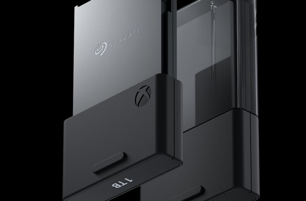 Os novos Xbox aceitarão SSD extra na forma de cartões de memória — Foto: Divulgalção/Microsoft
