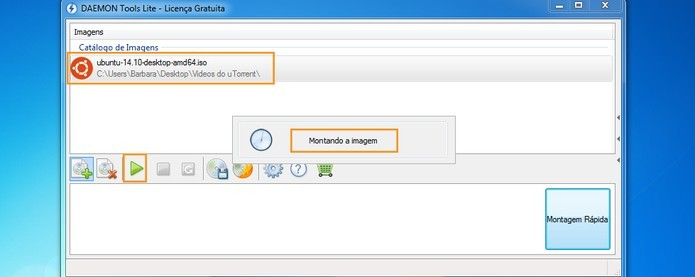 Como criar uma imagem de disco ISO usando o Daemon Tools