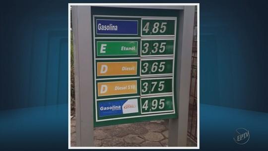 Com preços batendo quase R$ 5, gasolina já é uma das mais caras do país em 14 cidades do Sul de MG