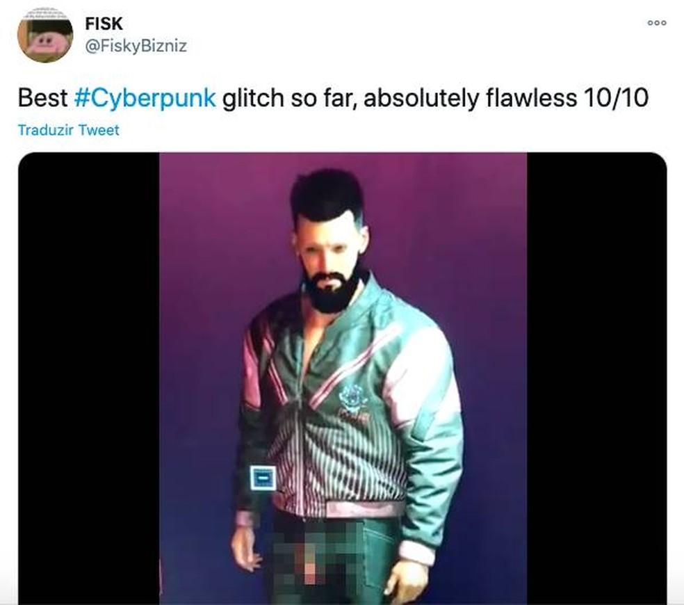 Cyberpunk 2077 apresenta bugs no lançamento e vira meme na Internet | Jogos  de ação | TechTudo