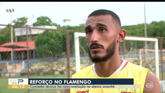 """""""Viemos para tenta fazer história"""", reforça Fred em primeira passagem pelo Flamengo-PI"""