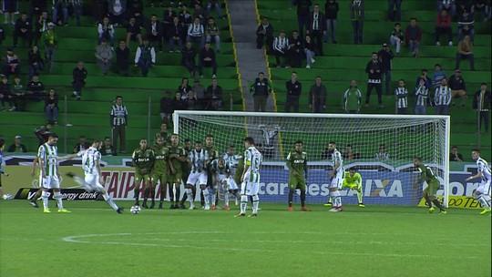 Os gols de Juventude 1 x 1 Coritiba pela 11ª rodada do Campeonato Brasileiro Série B