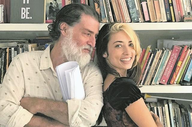 Giuseppe e Julia Oristanio (Foto: Divulgação)