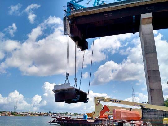 Queda da ponte sobre o Rio Moju completa um mês; previsão é que obras de reconstrução comecem na próxima quarta-feira
