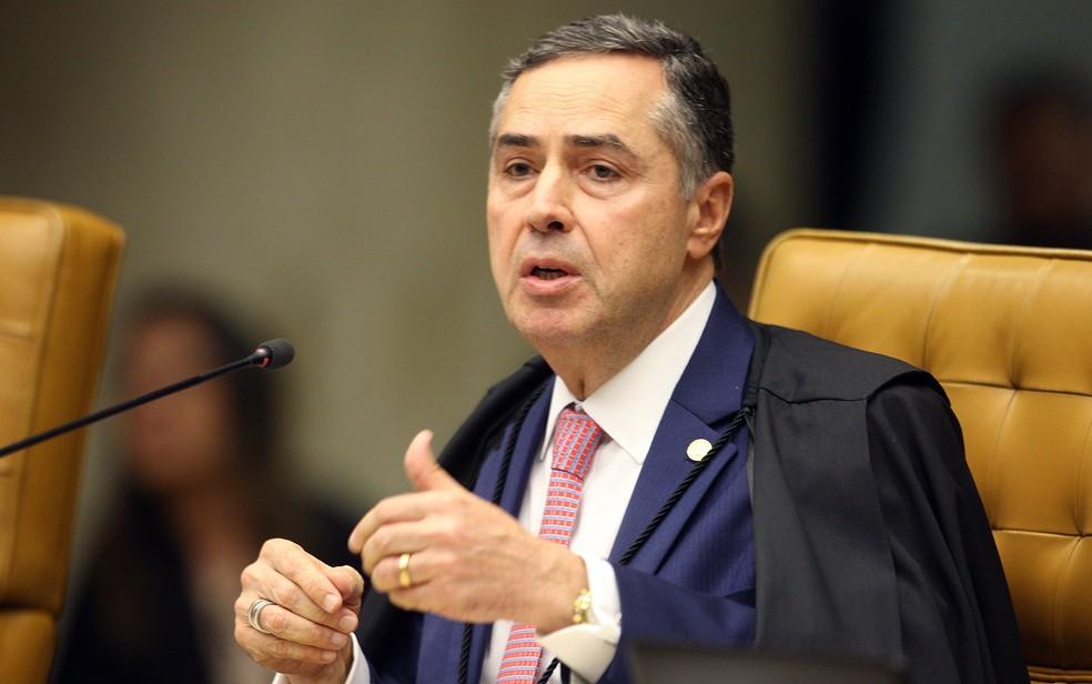O ministro Luís Roberto Barroso, do STF — Foto: Nelson Jr./SCO/STF