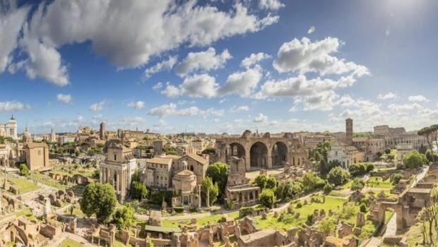 Sistema de estradas foi chave para a expansão do Império Romano (Foto: Getty Images via BBC)