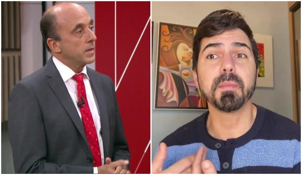 Os infectologistas Renato Kfouri e Álvaro Furtado da Costa, de São Paulo.  — Foto: Montagem/G1