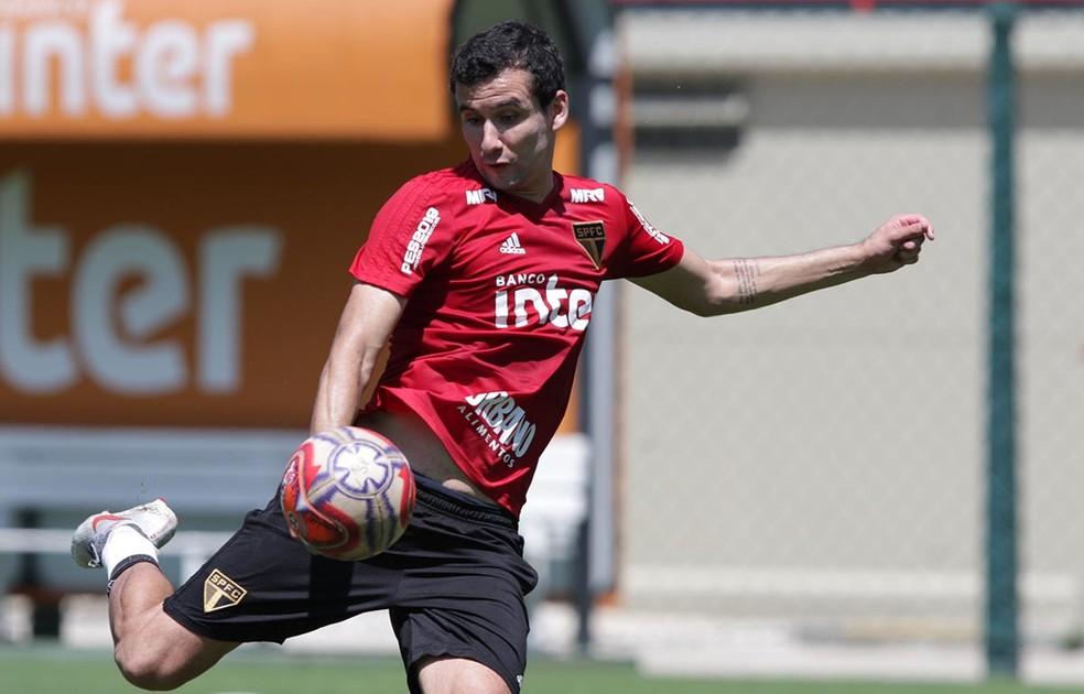 Pablo é o artilheiro do São Paulo na temporada, com quatro gols — Foto: Rubens Chiri / saopaulofc.net