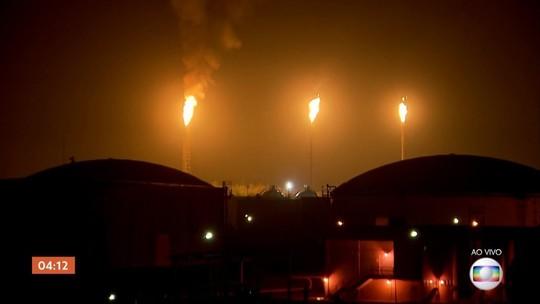 Explosão atinge refinaria em Paulínia, SP