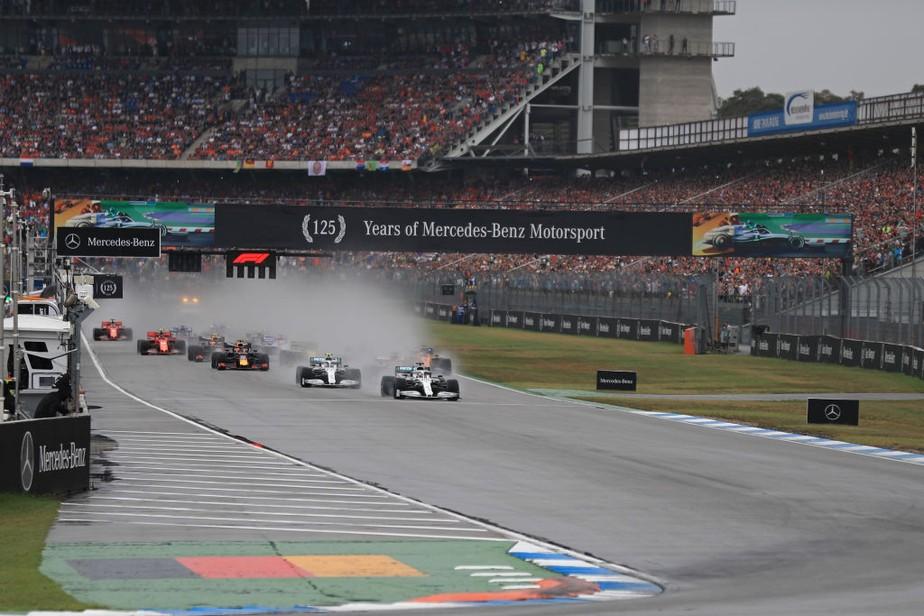 Diretor da FIA revela bastidores de relargada com pista molhada e sem safety car no GP da Alemanha
