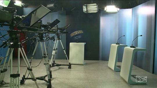 Debate na TV Mirante reúne cinco candidatos à Prefeitura de São Luís