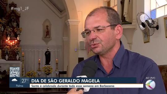 Dia de São Geraldo Magela é celebrado por católicos em Barbacena
